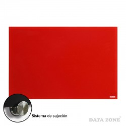 Pizarra de Vidrio Pared 60x90 Roja