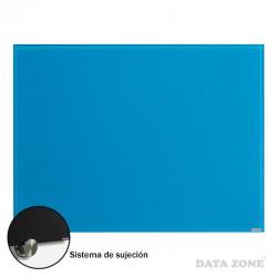 Pizarra de Vidrio Pared 90x120 Azul
