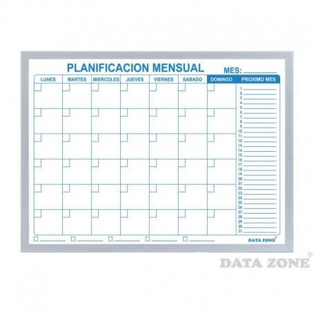 Planificador Mensual Magnético Mediano